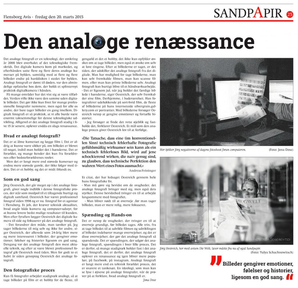 die analoge Renaissance